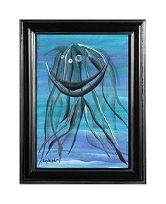 "EINGERAHMTER KUNSTDRUCK ""MEDUSA"" MARACHOWSKA ART MARACHOWSKA ART http://www.marachowska.com/"