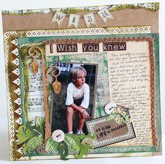 I wish you knew - Scrapbook.com
