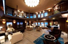 Amels is a prestigious motor yacht builder and a refit shipyard, with a vast portfolio of stunning Custom Built and Limited Edition superyachts. Amel Yachts, Luxury Yacht Interior, Yacht Builders, Yacht Design, Power Boats, Speed Boats, Location, Luxury Furniture, Modern Furniture