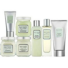 All I can say is heavenly. The entire Pistache line by Laura Mercier is deliciously decandent. I use the body souffle after my shower and the hand cream is always in my purse. Man this stuff just smells incredible.