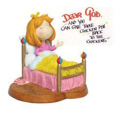 Collectable DEAR GOD KID'S Inspirational Hope Figurine Decorative Ornament NEW #DearGod #FigurinesSculpturesFigurines