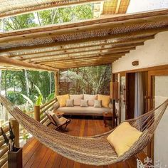 Beautiful Villas, Beautiful Homes, Outdoor Spaces, Outdoor Living, Tropical House Design, Rest House, Aesthetic Rooms, Cabins And Cottages, Dream House Exterior