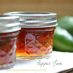 Pepper Jam   |   With a Grateful Prayer and a Thankful Heart: