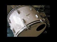 Rogers Vintage Drum Restoration - 8/10/12/16/20 Fullerton era