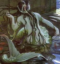 The Little Mermaid, illustration by Charles Santore
