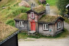 sod roof cottage