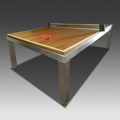 Table Tennis Table - 7.5 ft Fusion Table with Bespoke Top