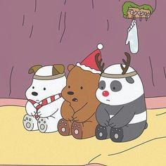 We bare bears uploaded by ILOW on We Heart It Cute Panda Wallpaper, Bear Wallpaper, Cute Disney Wallpaper, Cute Cartoon Wallpapers, Wallpaper Iphone Cute, Cartoon Cartoon, Vintage Cartoon, New Year Cartoon, Ice Bear We Bare Bears