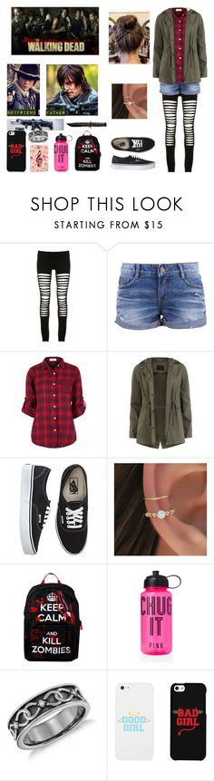 """""""Me in The Walking Dead"""" by bubble-loves-you ❤ liked on Polyvore featuring Maurie & Eve, Dorothy Perkins, Vans, Victoria's Secret, LG and Casetify"""