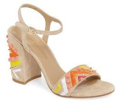 Women's Stuart Weitzman Both Embellished Sandal - $299.00