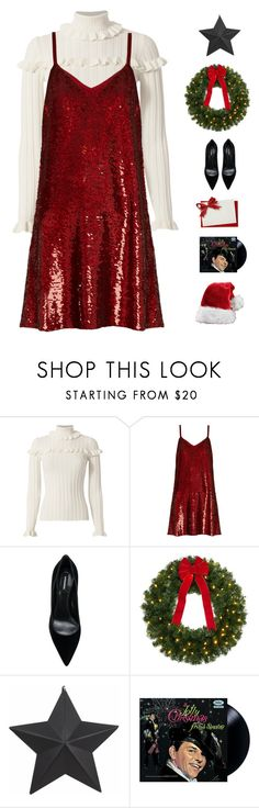 """""""Merry Christmas!"""" by genesis129 on Polyvore featuring Cinq à Sept, Ashish, Dsquared2, Christmas, ChristmasSeries and 25daystillchristmas"""