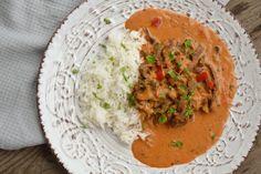 Viktväktarrecept – Sida 6 Grains, Curry, Rice, Mars, Ethnic Recipes, Food, Red Peppers, March, Kalay