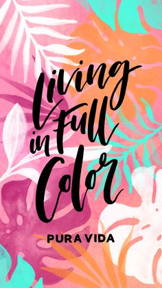 Pura Vida in 2019 Summer Wallpaper, Wallpaper For Your Phone, Pink Wallpaper, Screen Wallpaper, Cool Wallpaper, Mobile Wallpaper, Wallpaper Quotes, Laptop Wallpaper, Wallpaper Ideas
