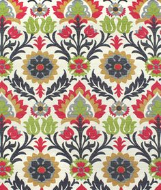 Waverly Santa Maria Sun N Shade Jewel Fabric - $9.85 | onlinefabricstore.net