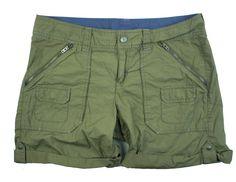 ATHLETA Size 10 Olive Green Cargo Shorts #Athleta #Cargo