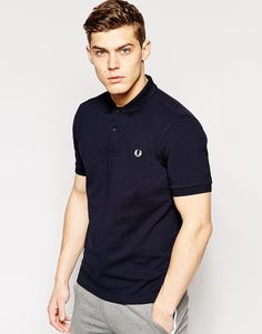 Image 1 of Fred Perry Slim Fit Plain Polo