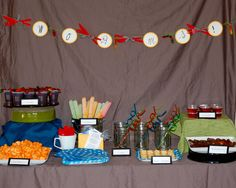 Ideas for back to school partys