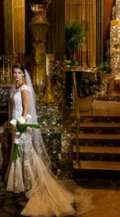 Cinti Netherland Hilton  dress by Steven Yerrick Flowers Skip Dorl. Brideface