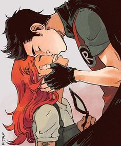 """I look at you and say """"this is the happiest I've ever been"""" ❤️ - #teentitans…"""