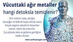 Vücuttaki ağır metaller hangi detoksla temizlenir?