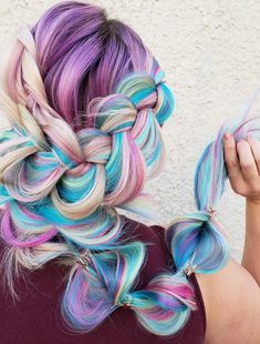 42 Gorgeous Colors & Mermaid Braid Hairstyles to Show Off Nowadays. Looking for perfect styles of hair colors and braids to wear in this season? Get inspire by these fantastic rainbow hair color ideas for braids to wear in year 2018. Although, it looks like complicated but actually it is not. you may easily create this style at home in very short time. So we assure you for best looks.
