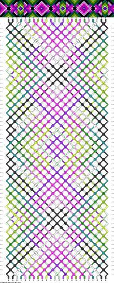 24 strings, 11 colors, 60 rows