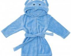 Bathing Bunnies Elephant Baby Towelling Robe - available at Wauwaa http://bit.ly/1nLJo8U #AutumnDays @wauwaauk