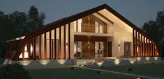 Design Moderne, Prefab Homes, Home Fashion, Architecture, Bungalow, Home And Family, House Design, Italy, Mansions