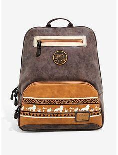 Disney Loungefly Mulan Chibi Canvas Passport Crossbody Purse Bag