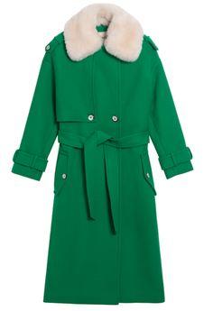 manteau-en-laine-vert-a-col-de-fourrure-amovible-ecru-lener