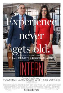 Robert De Niro is a  70 yr old widower who, bored with retirement, decides to apply for an unpaid internship at an online fashion site. Initially, he is out of his element, but he quickly makes friends and becomes an asset to the company, and to the boss. He made the movie.