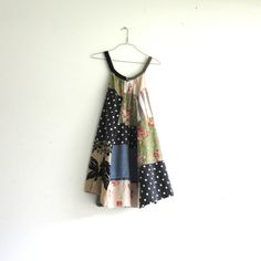 romantic Upcycled clothing / Patchwork Dress / Funky by CreoleSha, $102.00