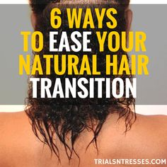 Transitioning can be one of the hardest things to do as a natural but there are some solutions. Here are 5 ways to make your natural hair transition easier.