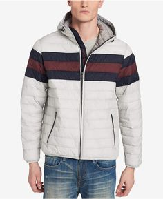 1572c371c Tommy Hilfiger Men Big & Tall Colorblocked Hooded Ski Coat
