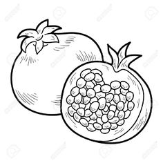 Coloring Page 2018 for Granada Colorear, you can see Granada Colorear and more pictures for Coloring Page 2018 at Children Coloring. Pomegranate Drawing, Coloring Books, Coloring Pages, Website Illustration, Hand Embroidery Tutorial, Embroidery On Clothes, Free Hd Wallpapers, Mosaic Patterns, Colorful Pictures