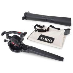 Toro 51617 3 In 1 Hand Held Electric Leaf Blower & Vacuum
