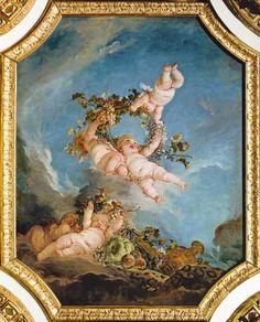 Titre de l'image : François Boucher - Automne, série Quatre Saisons de la Salle du Conseil