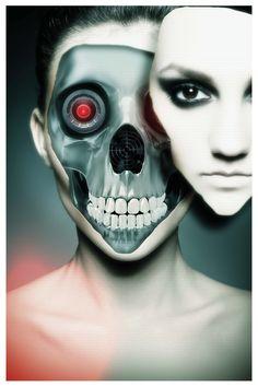 Photoshop tutorial: Create a sci-fi robot cyborg in Photoshop - Digital Arts