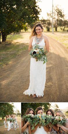 Shene Estate Tasmania Wedding Ben & Hope Wedding Photography www.benandhopeweddings.com.au Grace Loves Lace wedding dress rustic bohemiem vintage wedding