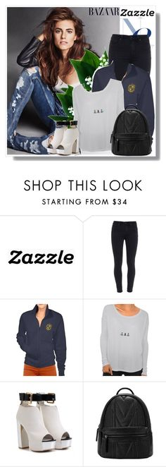 """""""Zazzle.co.uk"""" by fashion-all-around ❤ liked on Polyvore featuring Paige Denim, women's clothing, women, female, woman, misses, juniors and zazzle"""