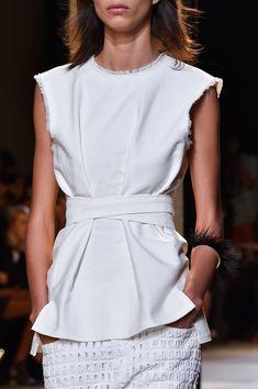 Isabel Marant at Paris Fashion Week Spring 2015.