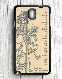 Winnie The Pooh Samsung Galaxy Note 3 Case