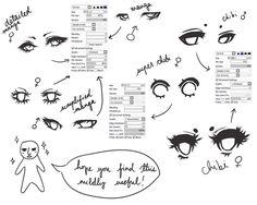 Eye Ref + sai brushes by cuteincarnate on DeviantArt
