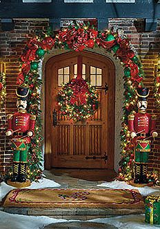 50 fabulous outdoor christmas decorations for a winter wonderland - Nutcracker Outdoor Christmas Decorations