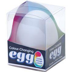 LED Egg Mood Light Colour Changing Night Lamp ASD ADHD Sensory  Box Aid   eBay