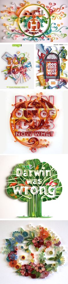 color-paperquilyulia    http://loveardently.com/blog/category/typography/#