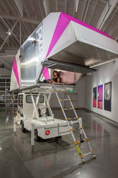 Aero-mobile is Office of Mobile Design's take on mobile living