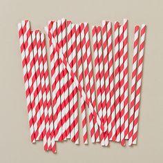 Paper straws!