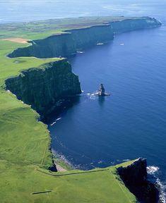 Shannon, Steilküste wurde in Irland aufgenommen