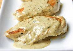 Une recette facile de poulet avec une sauce crémeuse à la moutarde!